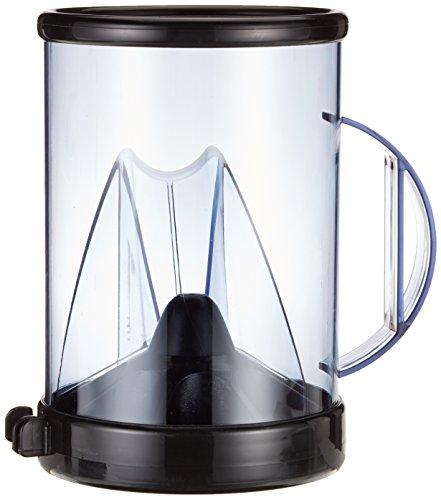 G S D Haushaltsgeräte DOSO Kaffeedosierer, Kunststoff, Black