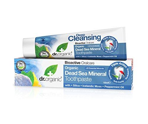 Dr. Organic Dentifricio Sali del Mar Morto - 150 ml