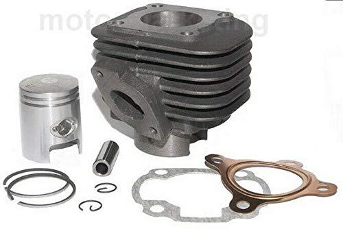 UNTIMERO 50 CCM Zylinder KIT Set für China Motor Roller 2 TAKT 50ccm Bolzen -12mm MOFA Zylinderkit