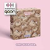 OH My Girl (オーマイガール) - Dear Ohmygirl [OMG Bear ver.] (8th Mini Album) [予約限定特典提供] CD+フォトブック+折りたたみポスター+Others with Tracking+追加 フォトカード, ステッカー