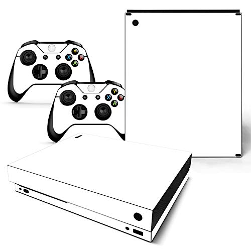 Mcbazel Pattern Series Skin Sticker for Xbox One X Console and Controller White