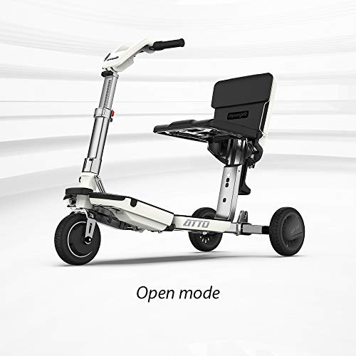 ATTO Folding Mobility Scooter by MovingLife, Full-Size Portable Electric Scooter for Adults,...