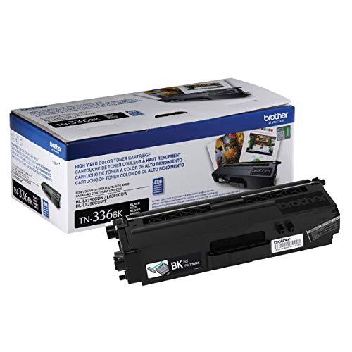 Brother TN-336BK DCP-L8400 L8450 HL-L8250 L8350 MFC-L8600 L8650 L8850 Toner Cartridge (Black) in Retail Packaging