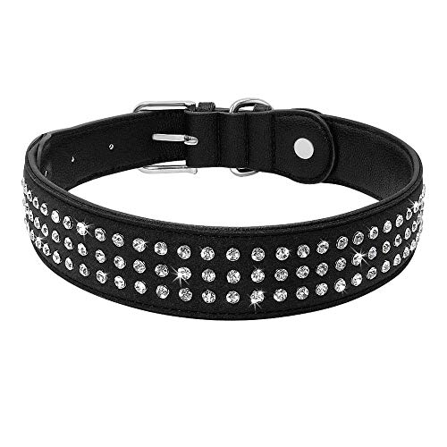 S XS 26–30 Cm//12mm Basic Negro Collar de perro con clavos Trixie Tamaños De Cuero 7