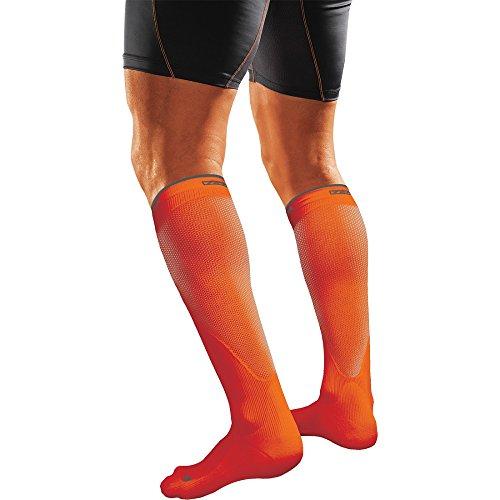 Shock Doctor SVR Recovery Compression Socks Adult Shock Orange X Small
