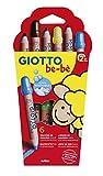 Giotto Be-Bè Súper Lápices Estuche 6 Uds. + Sacapuntas
