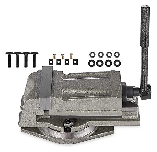 Máquina de soldadora Máquina giratoria giratoria giratoria de 100 mm de precisión Máquina de banco de torre de fresado Vice Para soldadura trabajando y trabajando eléctrico.