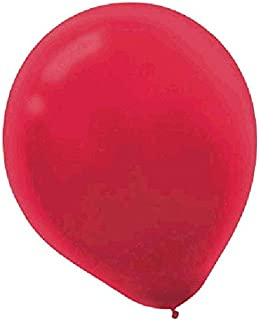 Solid Color Latex Balloons   Apple Red   Pack of 20   Party Decor