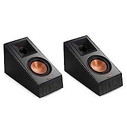 cheap Klipsch RP-500SA Dolby Atmos Surround Speaker (Ebony)