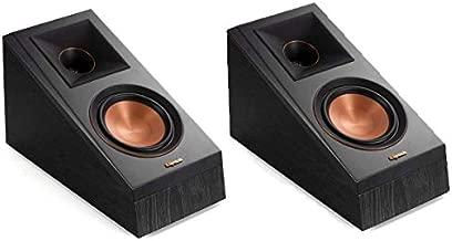 Klipsch RP-500SA Dolby Atmos Surround Sound Speakers (Ebony) (1066507)