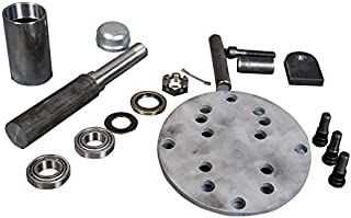 AtoZ Fabrication Tire Carrier Swingout Builder's Kit (Mega Spindle with 6x5.5,8x6.5 wheel plate)