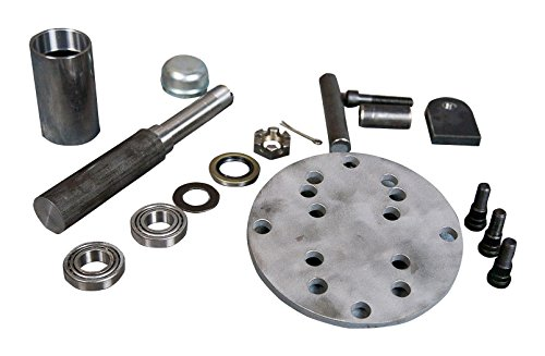 AtoZ Fabrication Tire Carrier Swingout Builder's Kit (Mega Spindle with 5x4.5,5x5,5x5.5 wheel plate)