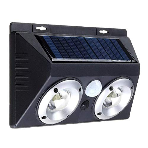 CKQ-KQ Buitenverlichting 20W zonnepaneel Muur LED Light Motion Sensor Outdoor Yard Tuin Beveiliging Lamp waterdichte Lamp