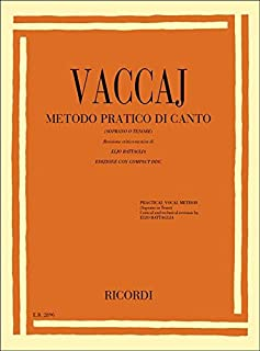 METODO PRATICO DI CANTO +CD - SOPRANO OR TENOR VOICE