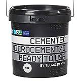 CEMENTEC Microcemento listo al uso BASE Ready to use (12 kg, Gris stromboli)