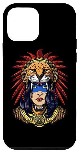 iPhone 12 mini Aztec Jaguar Warrior Native Mexican Mayan Princess Mythology Case