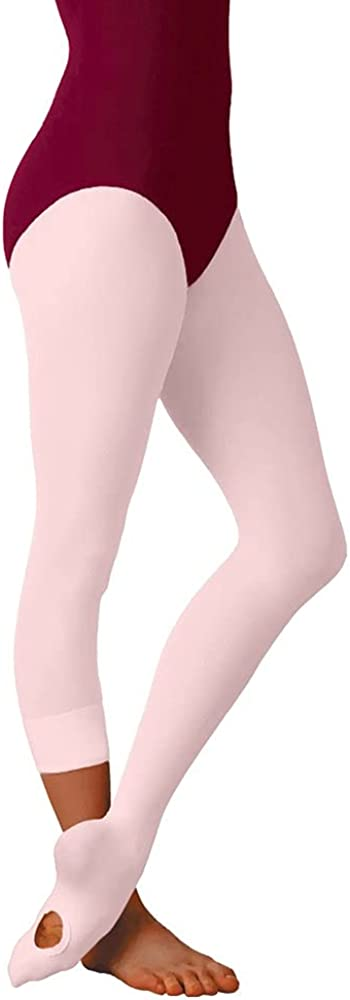 Body Wrappers A31 TotalSTRETCH Convertible Dance Tights