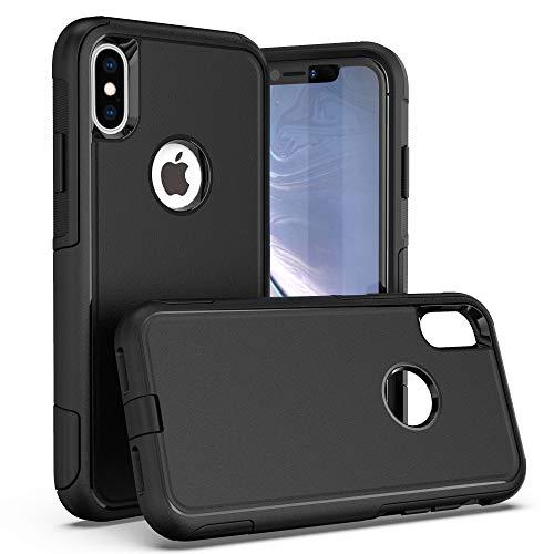 Krichit Pioneer Series Case for iPhone X Pioneer Case Heavy Duty Case iPhone Xs Case (Pioneer Black)