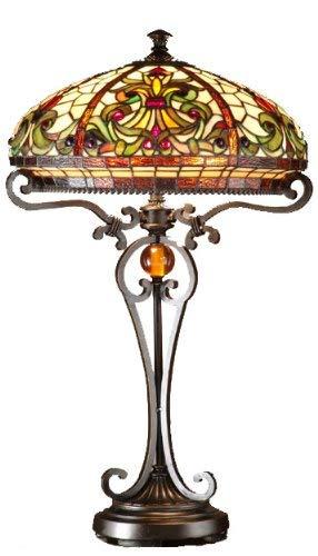 Dale Tiffany TT101114 Boehme Table Lamp, Sand