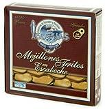CONSERVAS   MEJILLONES GIGANTES EN ESCABECHE 15/20 piezas Es una de las conservas mejor consideradas por los amantes de la gastronomía.