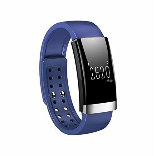 Smart bracelet LL-Pulsera Inteligente Monitor de frecuencia cardíaca cardiaco Fitness Tracker podómetro Pulsera cicret Pulsera Inteligente a Prueba de Agua