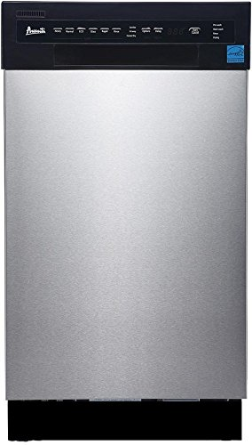 Avanti 18' Built-in Dishwasher SS Panel