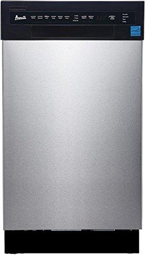 "Avanti 18"" Built-in Dishwasher SS Panel"