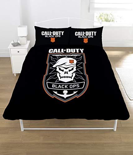 Call Of Duty - Ensemble de lit (Lit Double) (Noir/Vert)