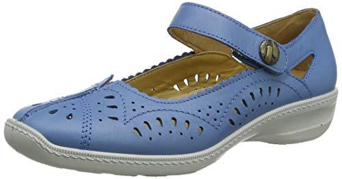 Hotter Chile Merceditas Mujer, Azul (French Blue 309), 38 EU (5 UK)