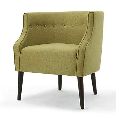 Christopher Knight Home Brandi Fabric Club Chair, Green