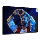 Vspgyf Dj David Guetta Poster Leinwand Kunst Poster Und