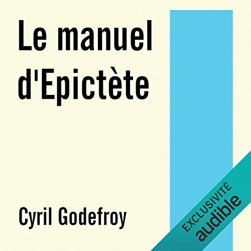 Couverture de Le manuel d'Epictète