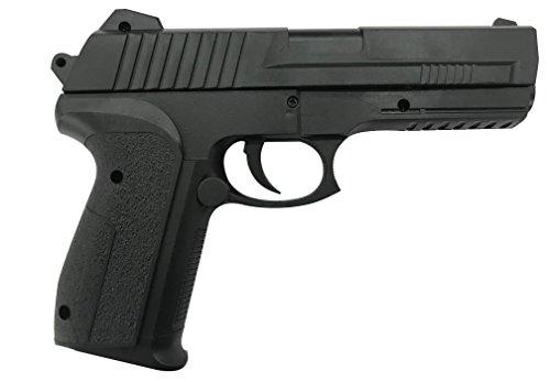 Forest Gun 50779-Pistolet Billes 6mm- 0,4 Joule Couleur Noir