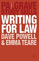 Writing for Law (Macmillan Study Skills)