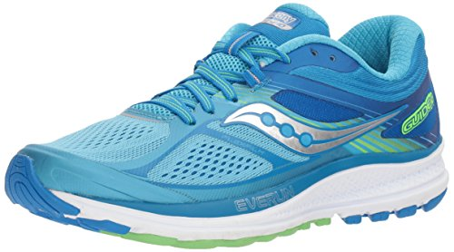 Saucony Women's Guide 10 Running Shoe, Light Blue | Blue, 8.5 M