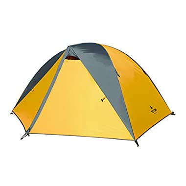 Teton Sports Mountain Ultra 3 Tent; 3 Person Backpacking Dome Tent Includes Footprint and Rainfly; Quick and Easy Setup; Ready in an Instant When You Want to Get Outdoors; Clip-On Rainfly Included