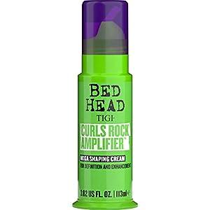 BED HEAD by TIGI - Curls Rock, crema voluminizadora para pelo rizado para unos rizos definidos, 113 ml