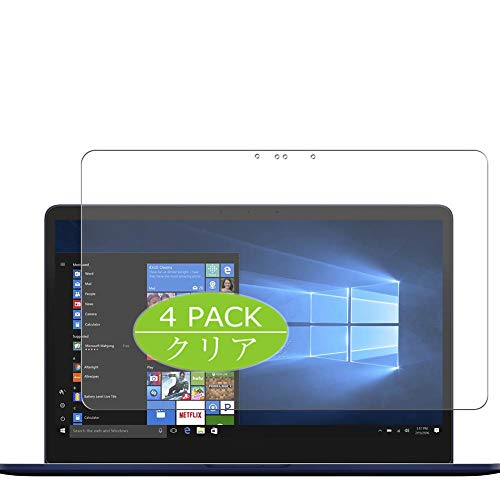 """Vaxson - 4 pellicole protettive compatibili con ASUS ZenBook Pro 15 UX550GD 15,6"""", pellicola protettiva in TPU senza bolle [non in vetro temperato]"""