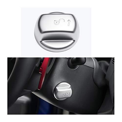 Piezas de automóviles para Jaguar F-Pace 2016 2017 2018 2019 2020 Car Styling Accesorios 1pcs ABS Volante De Ajuste De Altura del Coche Perilla De Ajuste De La Cubierta Decoración