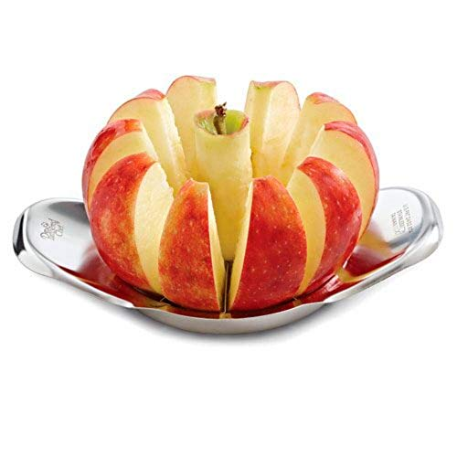 Pampered Chef Stainless Steel Apple Wedger Slicer Corer
