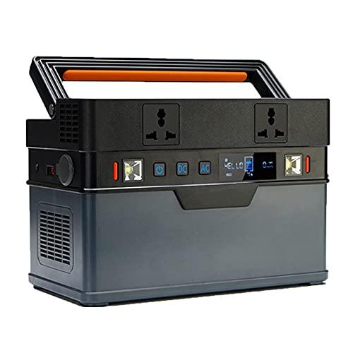 Grupo electrogeno Fuente De Alimentación De Emergencia Al Aire Libre Portátil, Un Generador Que Puede Ser Operado Por Teléfono Móvil Bluetooth, Banco De Energía Adecuado Para Viajes Al Air(Color:110V)
