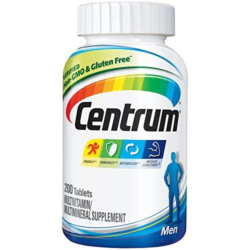 Multivitaminico e Multimineral Centrum Men 200 tabletes - Masculino