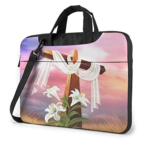 XCNGG Bolso de hombro Computer Bag Laptop Bag Carrying Laptop Case, Easter Egg Computer Sleeve Cover with Handle, Business Briefcase Protective Bag for Ultrabook, MacBook, Asus, Samsung, Sony, Noteboo