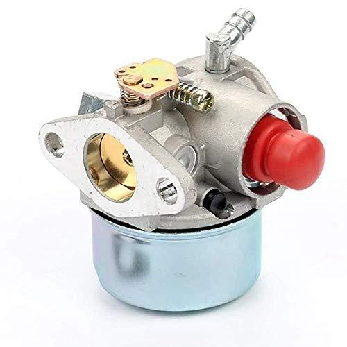 640350 Heights Carburador de madera compatible para Tecumseh Lev100 Lev105 LEV 120 Lv195Ea Lv195 X A 640303 640271 Carburador máquina cortacésped motocicleta tornillos carburador repuesto