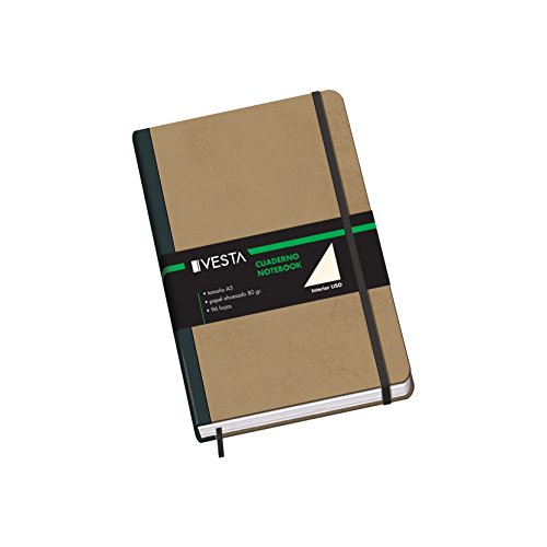 Dohe Vesta Nature - Cuaderno liso, A5