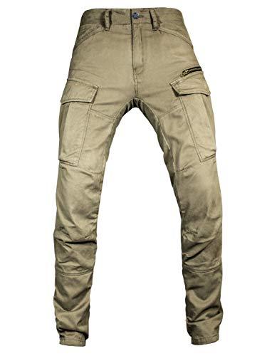 John Doe Stroker Cargo XTM   Motorradhose   XTM   Atmungsaktiv   Motorrad Cargo Hose   Hose mit Seitentaschen   Protektoren sind enthalten
