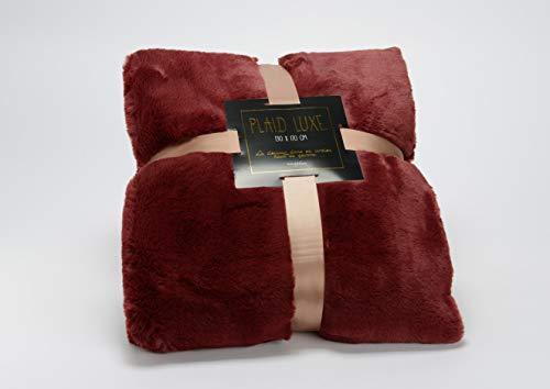 Amadeus - Plaid Bordeaux 130x170