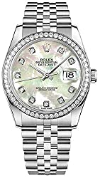 Date 36 Diamond Luxury Watch #116244
