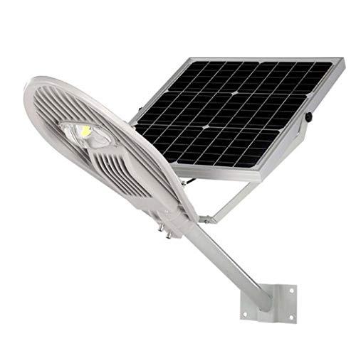 Yd&h 100W LED zonnestraatlantaarn, waterdichte geïntegreerde arm lichtkop, buitenverlichting zonne-tuinverlichting voor tuin, parkeerplaats, paal, wegbereik, 100 W