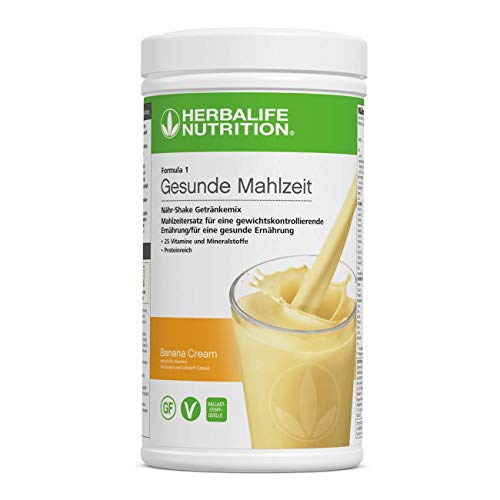 Herbalife Formula 1 Shake drankenmix gezonde maaltijd banana crème - 550 g